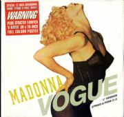 "VOGUE - UK LIMITED EDITION 12""+ POSTER (W9851TX)"